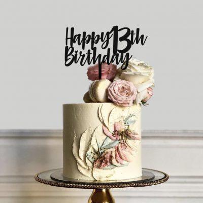 Tremendous Happy Birthday Cake Topper Birthday Cake Topper Etched Engraving Funny Birthday Cards Online Elaedamsfinfo